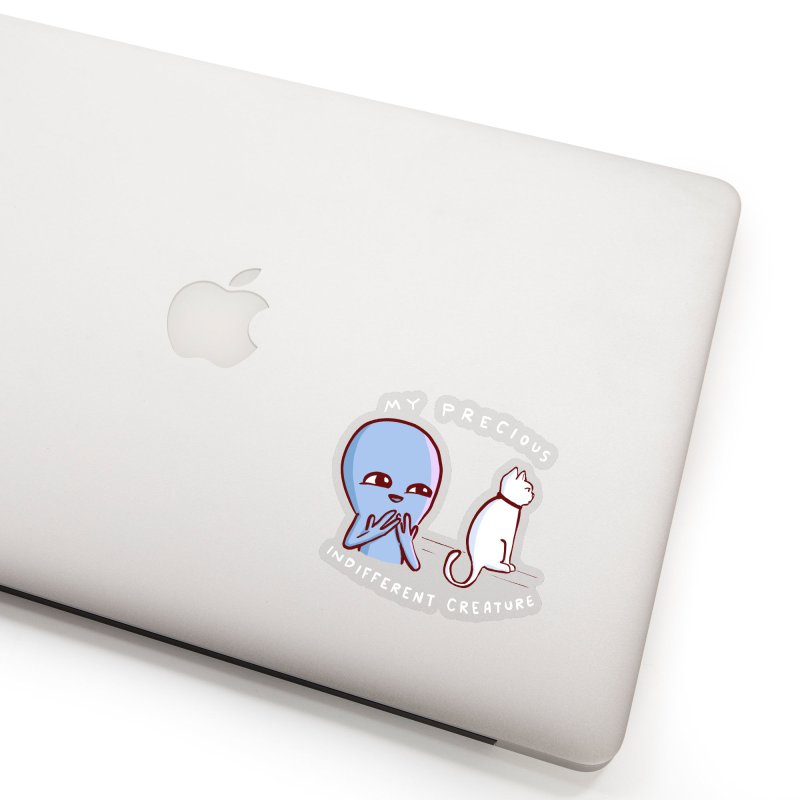 STRANGE PLANET SPECIAL PRODUCT: MY PRECIOUS INDIFFERENT CREATURE Accessories Sticker by Nathan W Pyle
