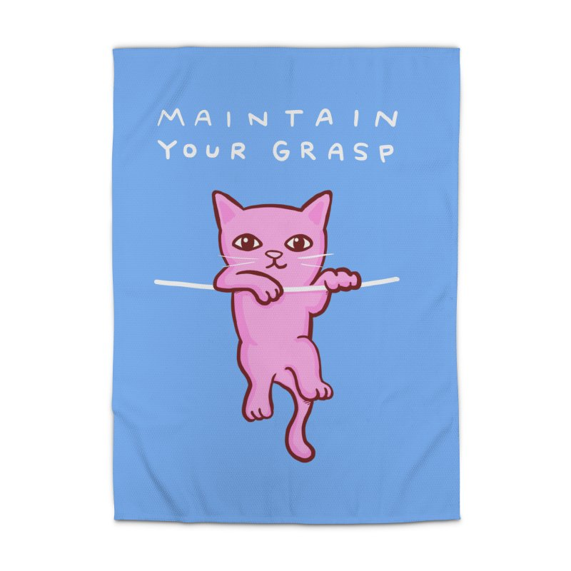STRANGE PLANET SPECIAL PRODUCT: MAINTAIN YOUR GRASP Home Rug by Nathan W Pyle
