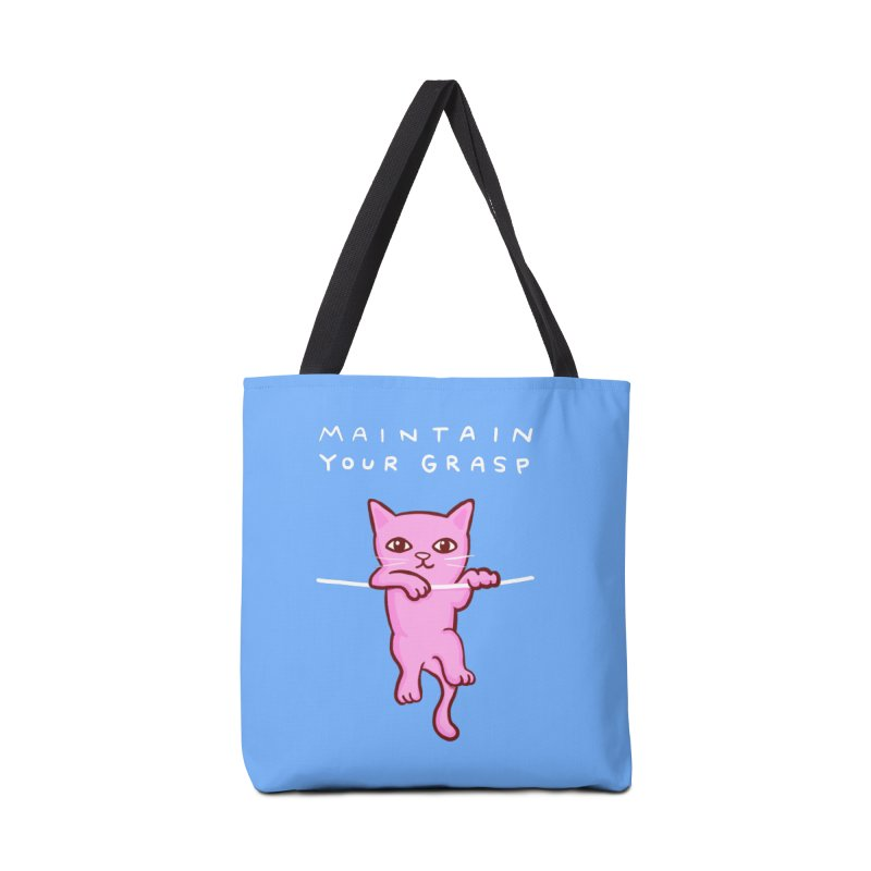 STRANGE PLANET SPECIAL PRODUCT: MAINTAIN YOUR GRASP Accessories Tote Bag Bag by Nathan W Pyle