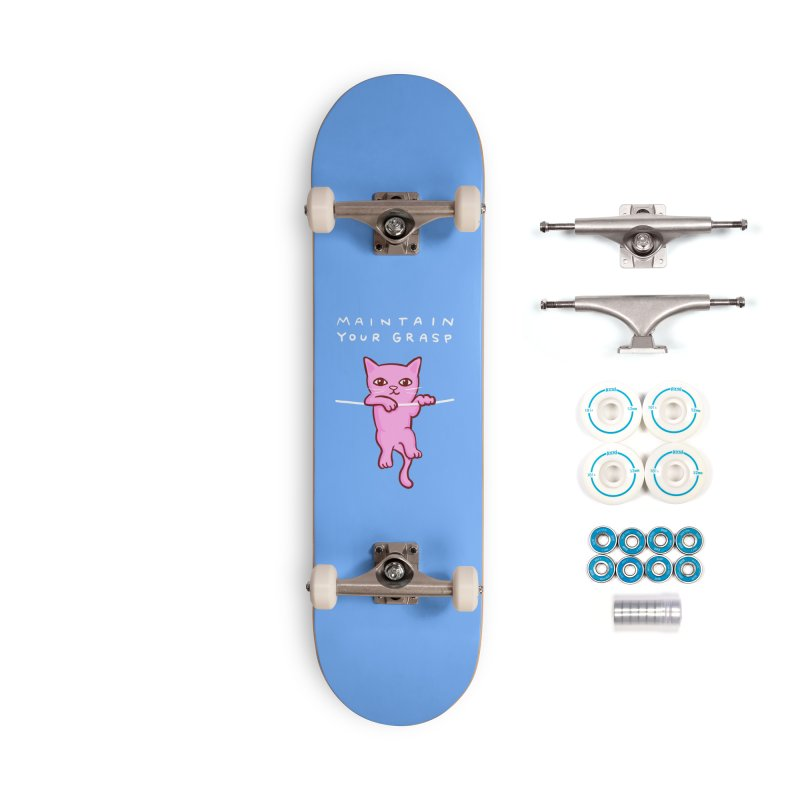 STRANGE PLANET SPECIAL PRODUCT: MAINTAIN YOUR GRASP Accessories Complete - Basic Skateboard by Nathan W Pyle