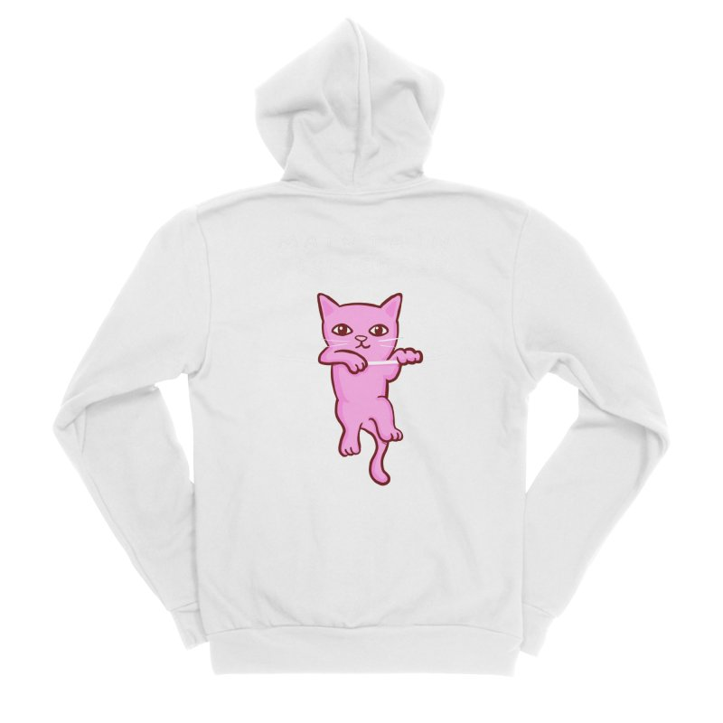 STRANGE PLANET SPECIAL PRODUCT: MAINTAIN YOUR GRASP Women's Sponge Fleece Zip-Up Hoody by Nathan W Pyle