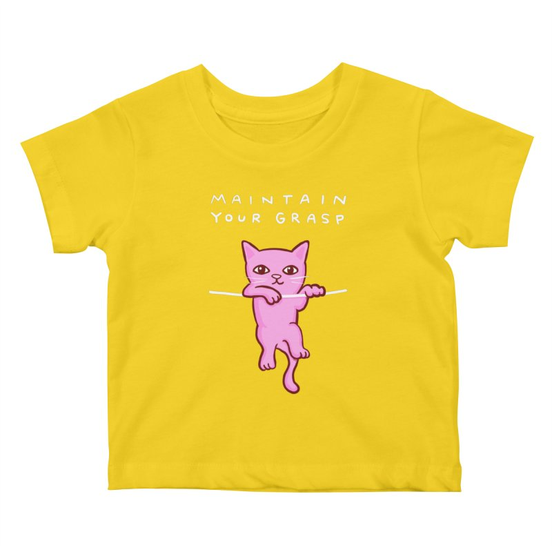 STRANGE PLANET SPECIAL PRODUCT: MAINTAIN YOUR GRASP Kids Baby T-Shirt by Nathan W Pyle