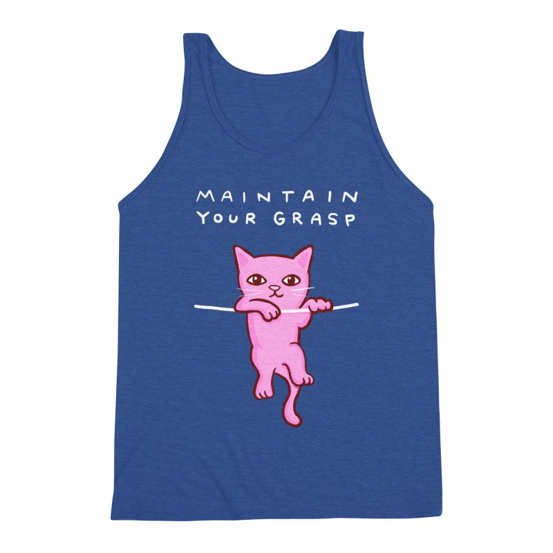 STRANGE PLANET SPECIAL PRODUCT: MAINTAIN YOUR GRASP Men's Tank by Nathan W Pyle