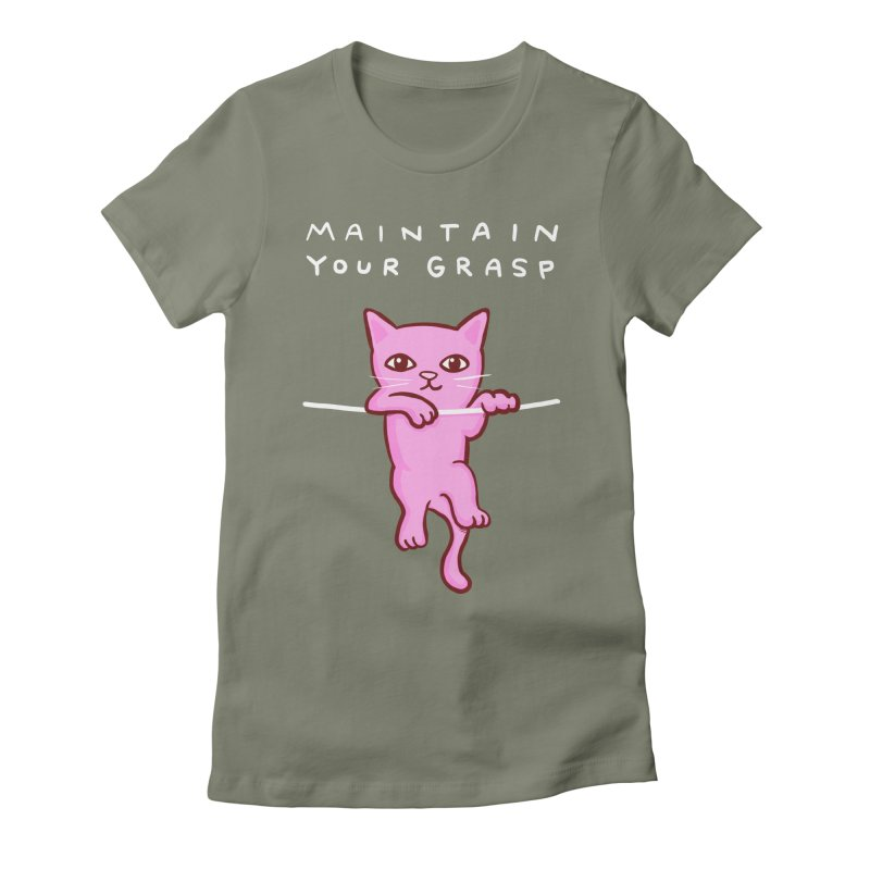 STRANGE PLANET SPECIAL PRODUCT: MAINTAIN YOUR GRASP Women's T-Shirt by Nathan W Pyle