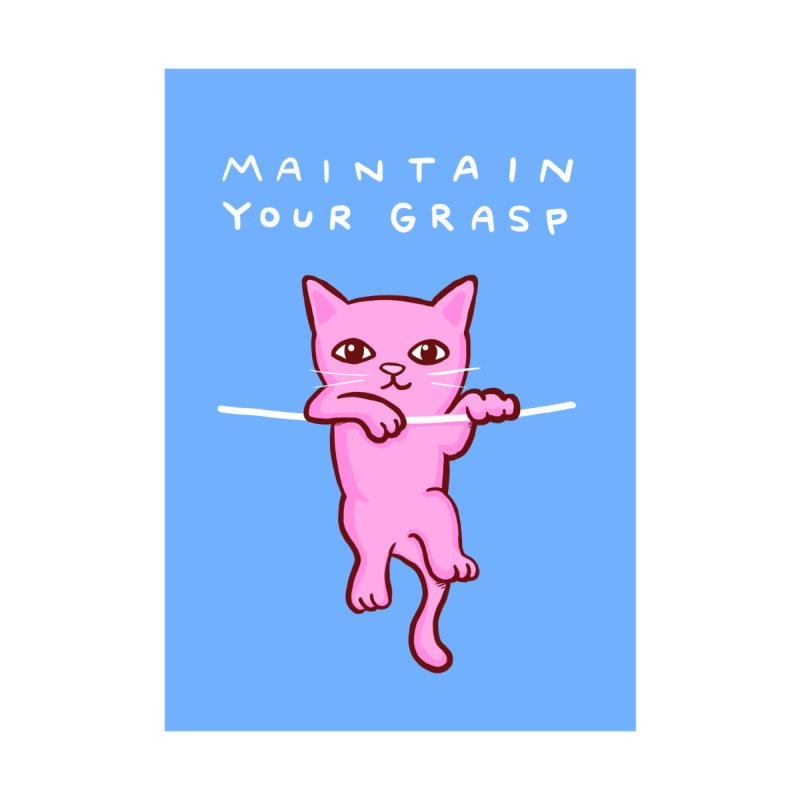 STRANGE PLANET: MAINTAIN YOUR GRASP V2 Accessories Sticker by Nathan W Pyle
