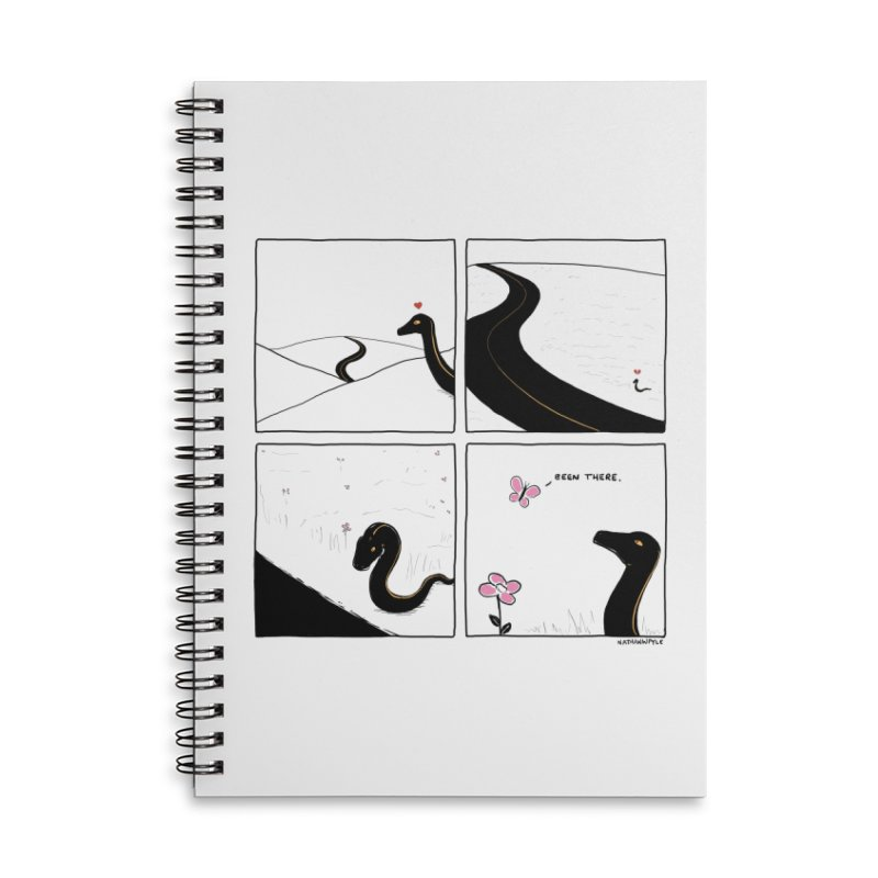 SSSAD Accessories Lined Spiral Notebook by Nathan W Pyle