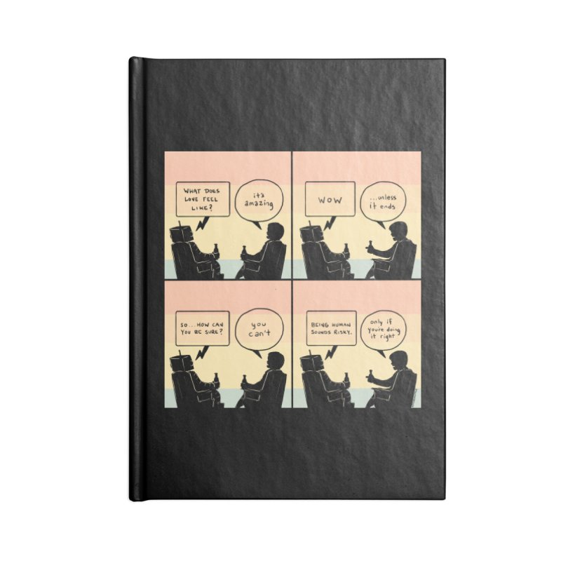 HUMAN Accessories Notebook by Nathan W Pyle
