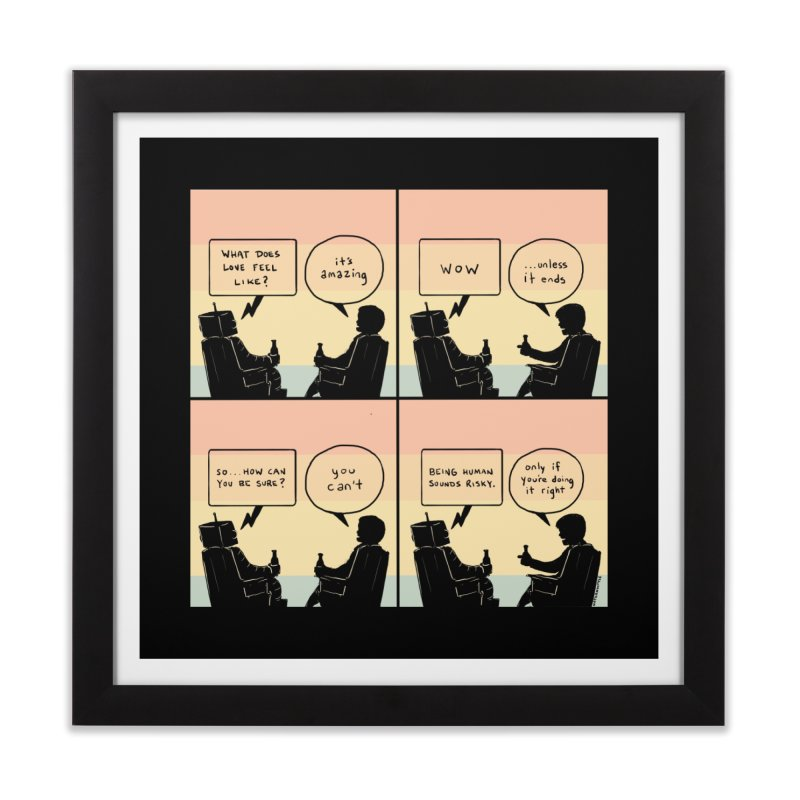 HUMAN Home Framed Fine Art Print by Nathan W Pyle