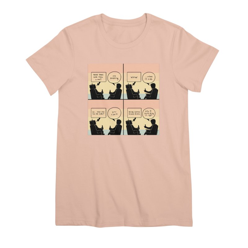 HUMAN Women's T-Shirt by Nathan W Pyle
