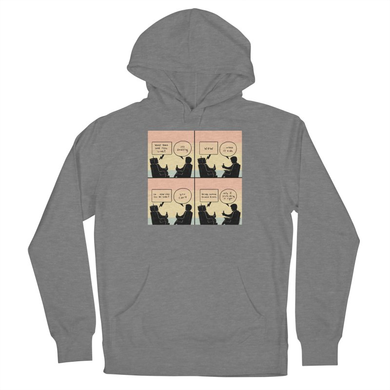 HUMAN Women's Pullover Hoody by Nathan W Pyle