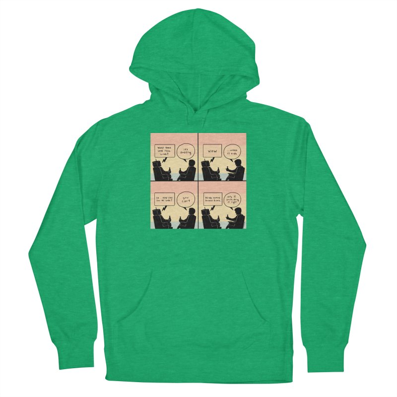 HUMAN Men's Pullover Hoody by Nathan W Pyle
