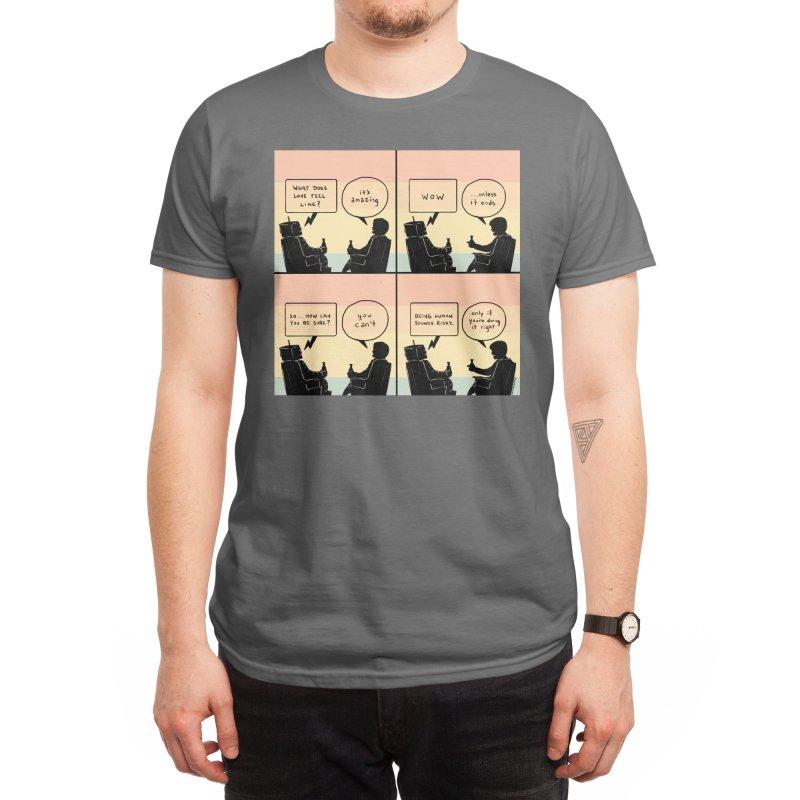HUMAN Men's T-Shirt by Nathan W Pyle