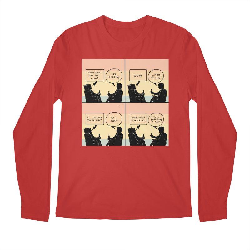 HUMAN Men's Regular Longsleeve T-Shirt by Nathan W Pyle