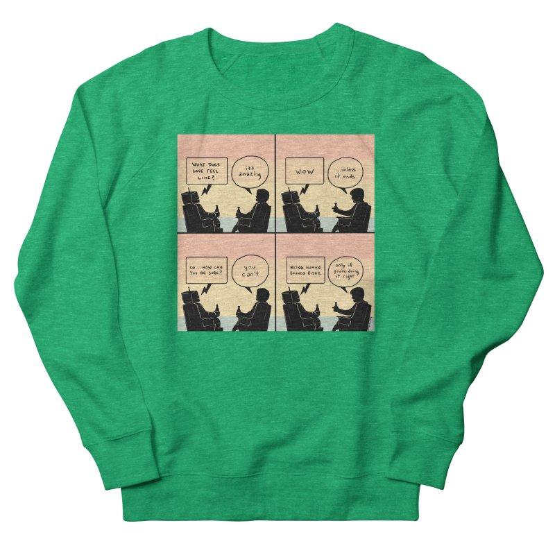 HUMAN Women's Sweatshirt by Nathan W Pyle