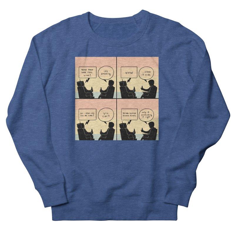 HUMAN Men's Sweatshirt by Nathan W Pyle