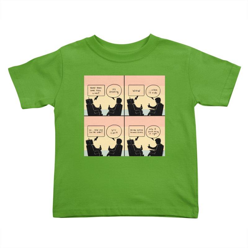 HUMAN Kids Toddler T-Shirt by Nathan W Pyle