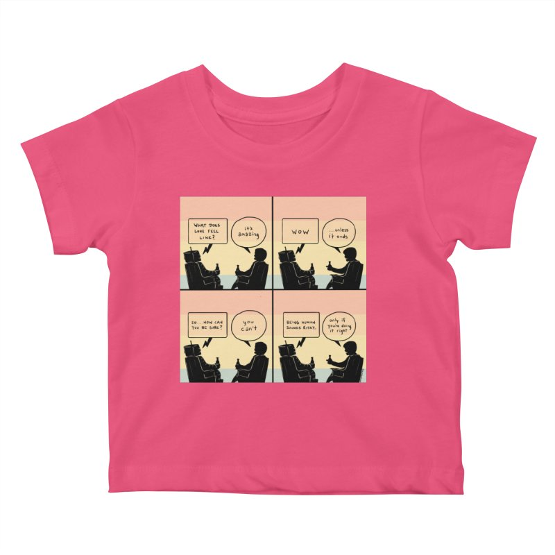 HUMAN Kids Baby T-Shirt by Nathan W Pyle