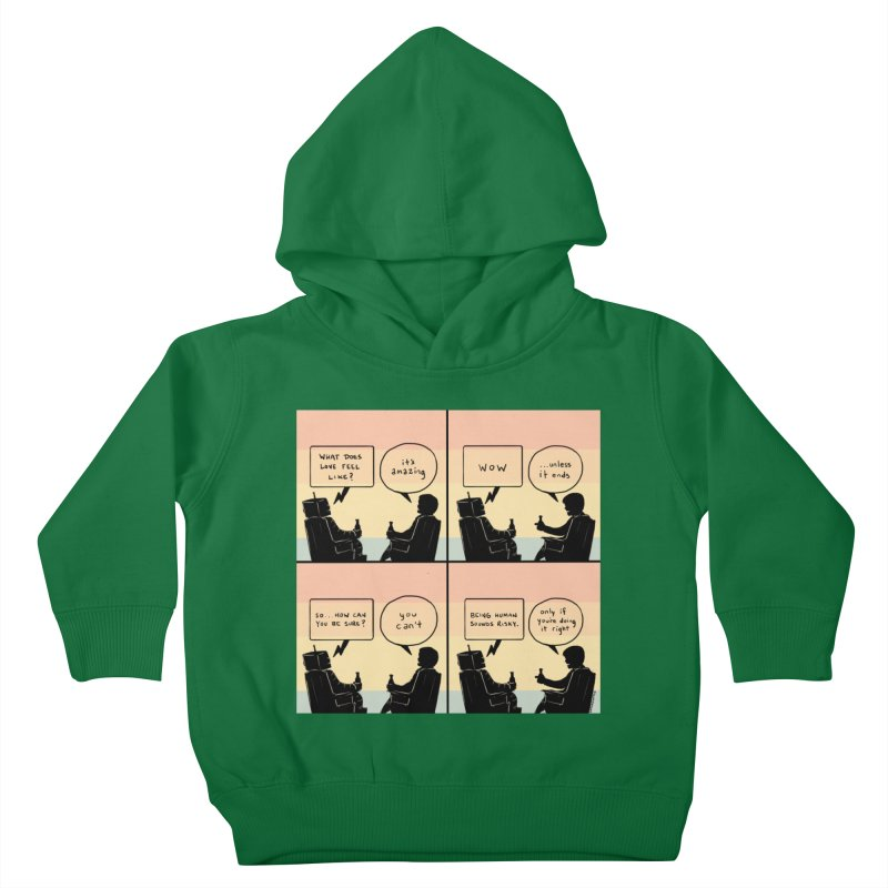 HUMAN Kids Toddler Pullover Hoody by Nathan W Pyle Shop | Strange Planet Store | Thread