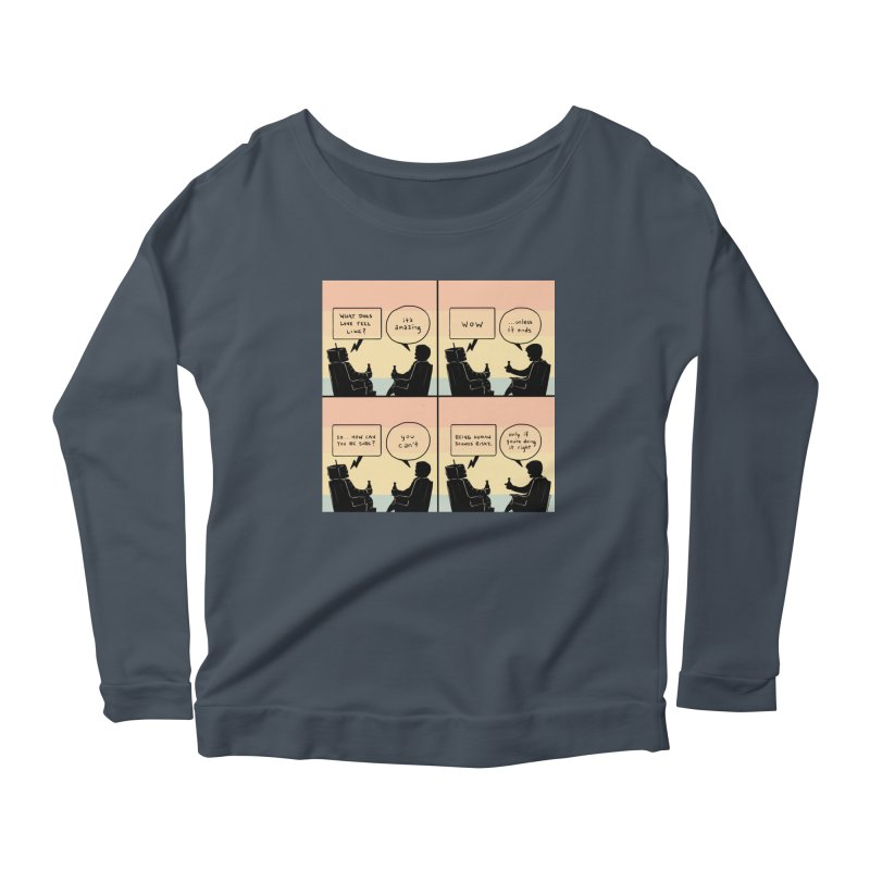 HUMAN Women's Longsleeve T-Shirt by Nathan W Pyle