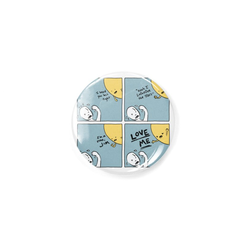 LOVE ME Accessories Button by Nathan W Pyle