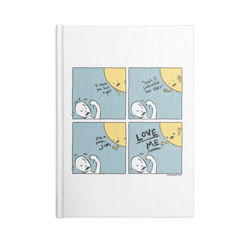 LOVE ME Accessories Lined Journal Notebook by Nathan W Pyle