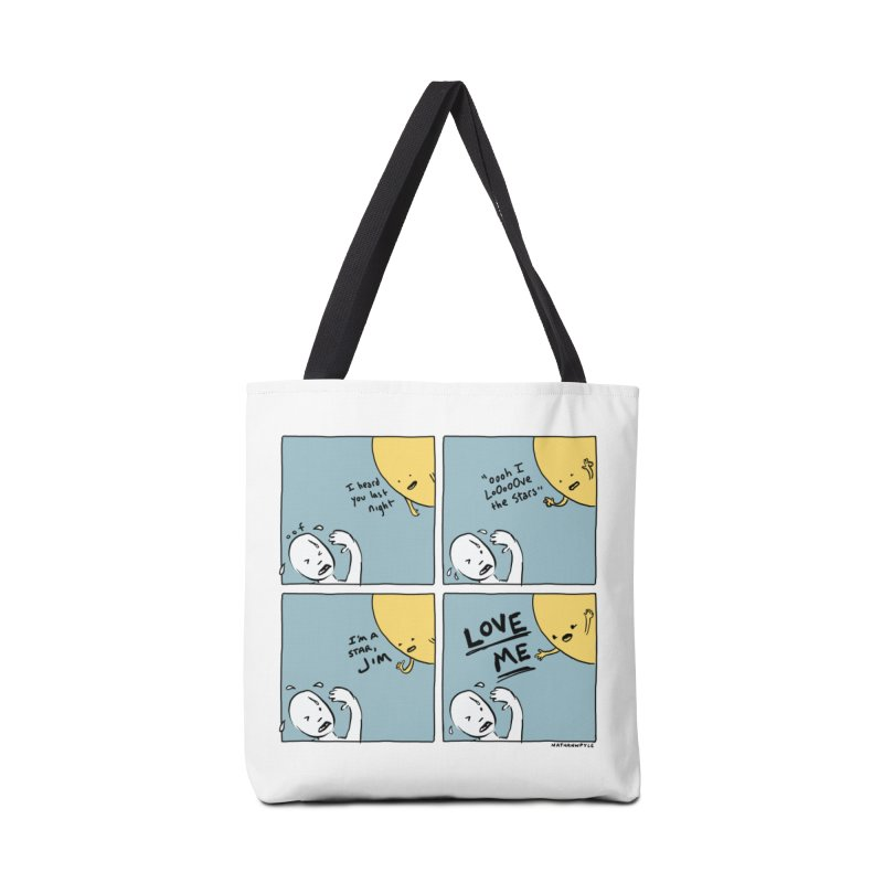 LOVE ME Accessories Tote Bag Bag by Nathan W Pyle