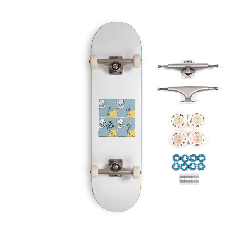 LOVE ME Accessories Complete - Premium Skateboard by Nathan W Pyle