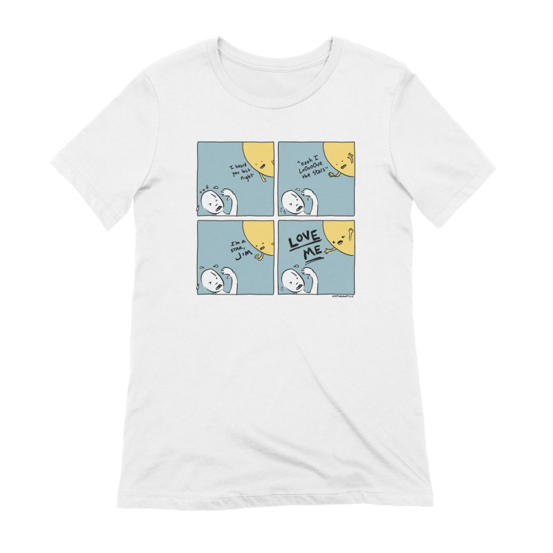 LOVE ME Women's Extra Soft T-Shirt by Nathan W Pyle