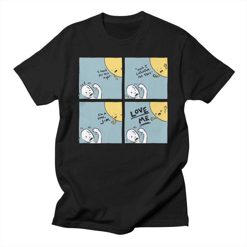 LOVE ME Men's T-Shirt by Nathan W Pyle Shop | Strange Planet Store