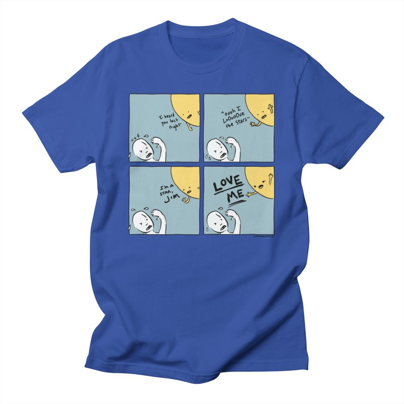 LOVE ME Men's T-Shirt by Nathan W Pyle Shop   Strange Planet Store   Thread