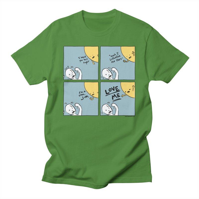 LOVE ME Men's T-Shirt by Nathan W Pyle Shop   Strange Planet Store