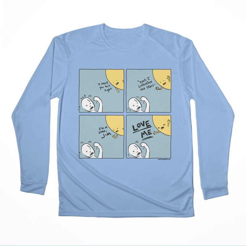 LOVE ME Men's Longsleeve T-Shirt by Nathan W Pyle