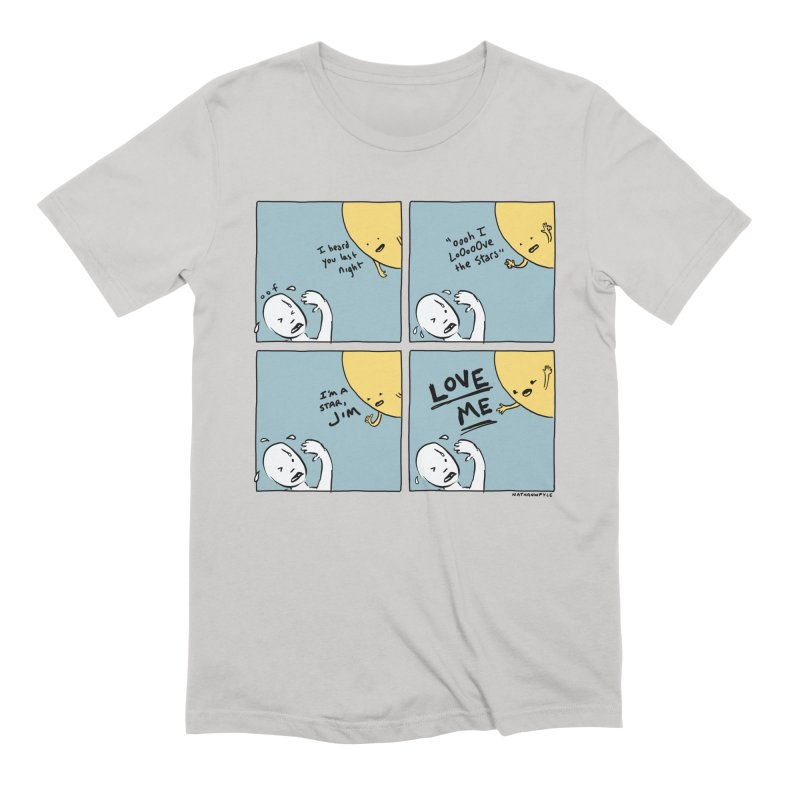 LOVE ME Men's Extra Soft T-Shirt by Nathan W Pyle