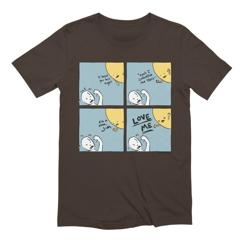 LOVE ME Men's T-Shirt by Nathan W Pyle