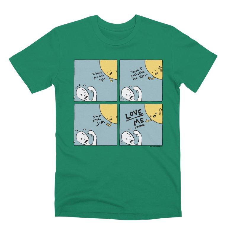 LOVE ME Men's Premium T-Shirt by Nathan W Pyle