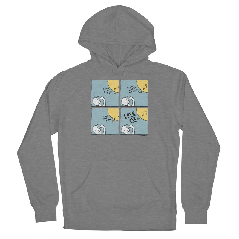 LOVE ME Women's Pullover Hoody by Nathan W Pyle