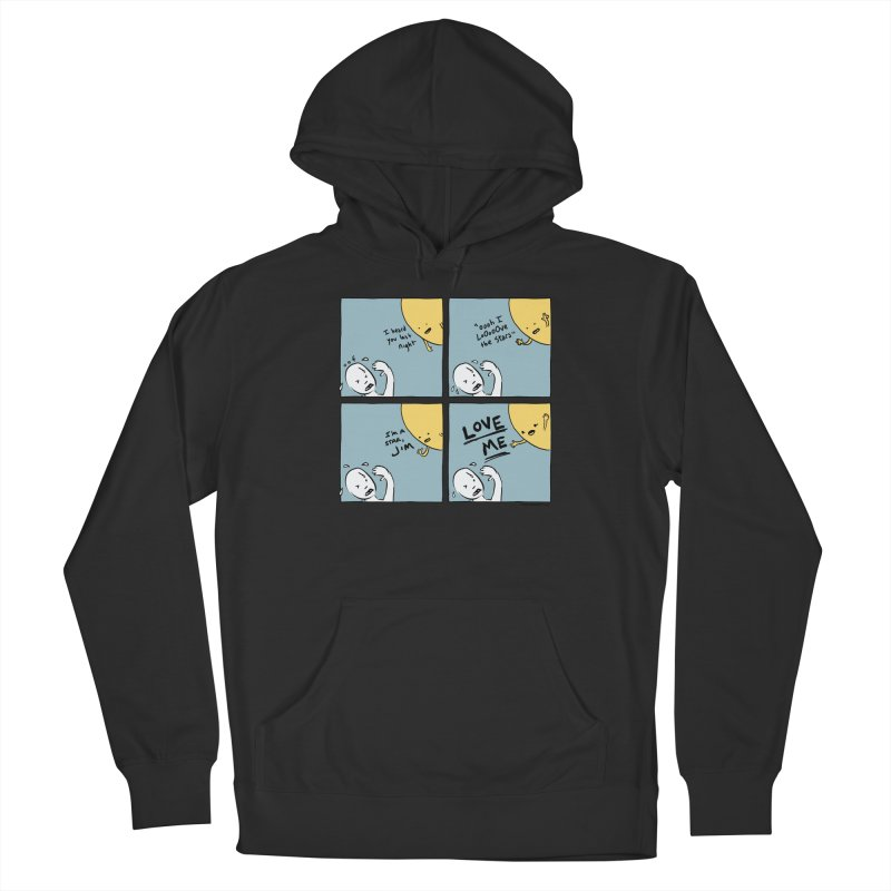 LOVE ME Men's Pullover Hoody by Nathan W Pyle