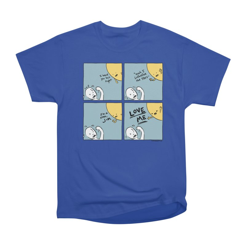 LOVE ME Men's Heavyweight T-Shirt by Nathan W Pyle