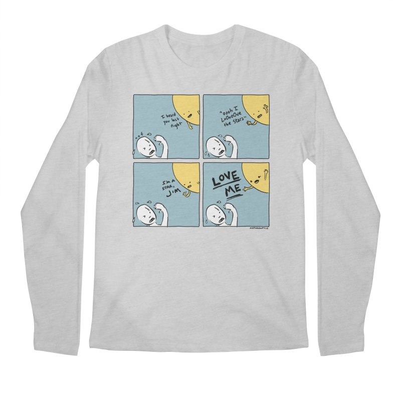 LOVE ME Men's Regular Longsleeve T-Shirt by Nathan W Pyle