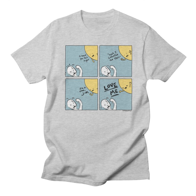 LOVE ME Men's Regular T-Shirt by Nathan W Pyle