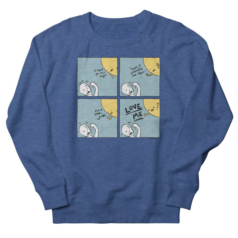 LOVE ME Men's Sweatshirt by Nathan W Pyle