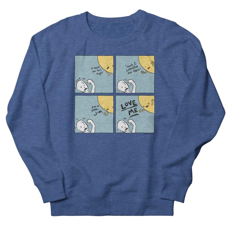 LOVE ME Men's Sweatshirt by Nathan W Pyle Shop | Strange Planet Store | Thread