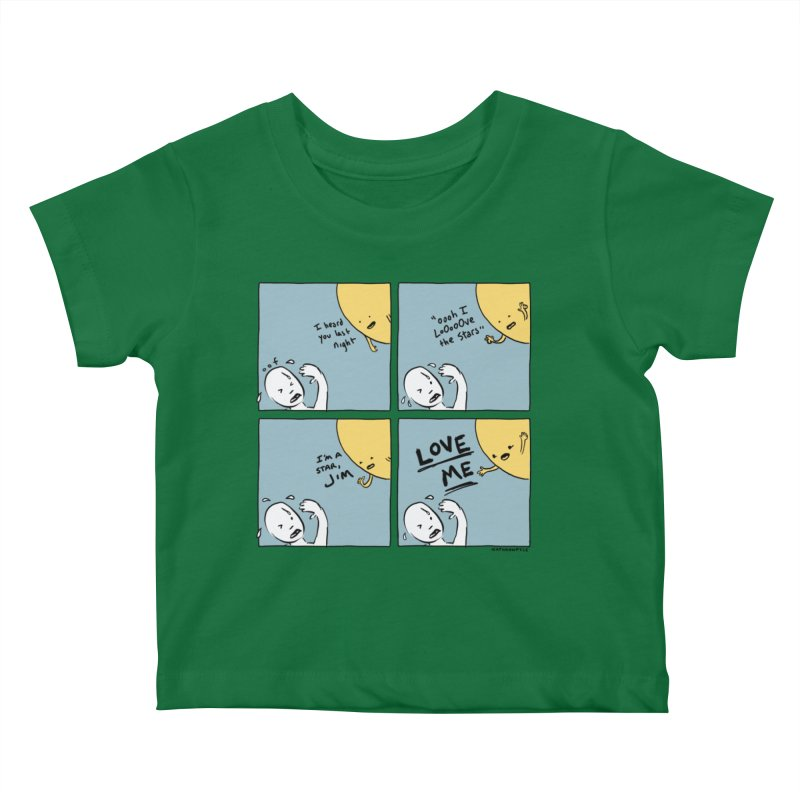 LOVE ME Kids Baby T-Shirt by Nathan W Pyle Shop | Strange Planet Store | Thread
