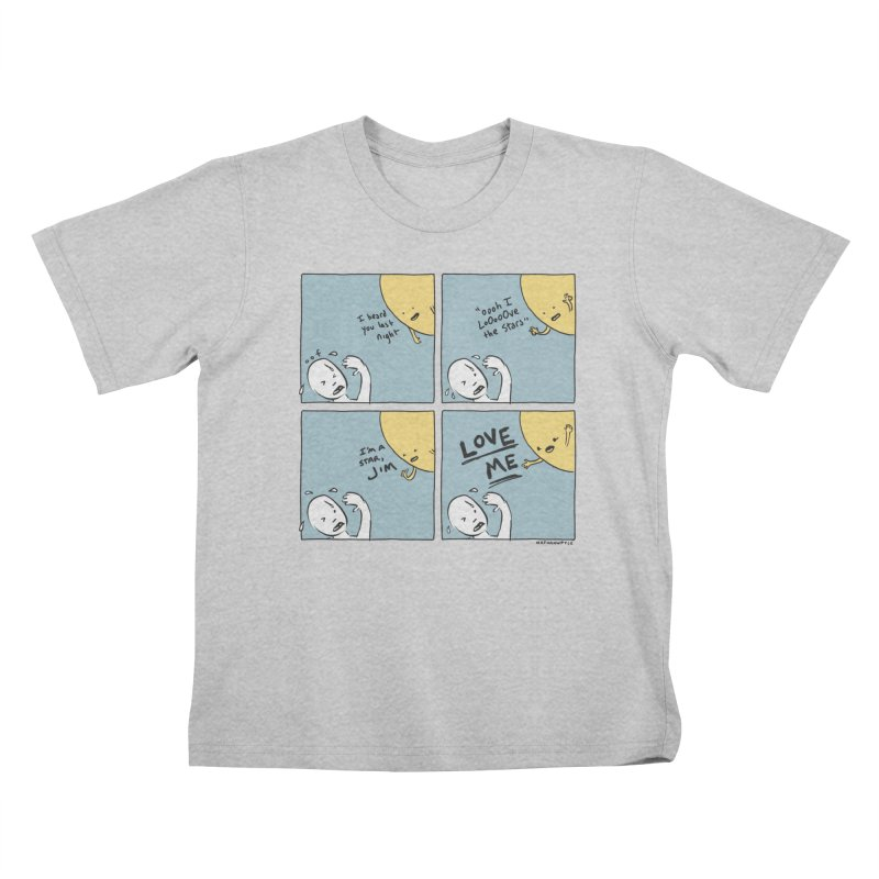 LOVE ME Kids T-Shirt by Nathan W Pyle
