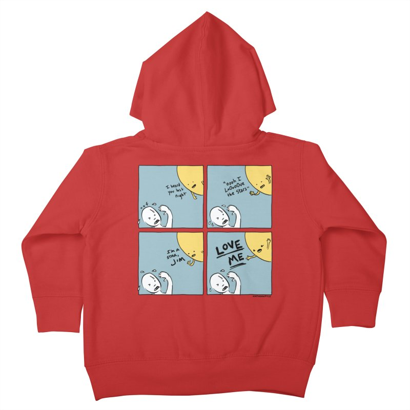 LOVE ME Kids Toddler Zip-Up Hoody by Nathan W Pyle