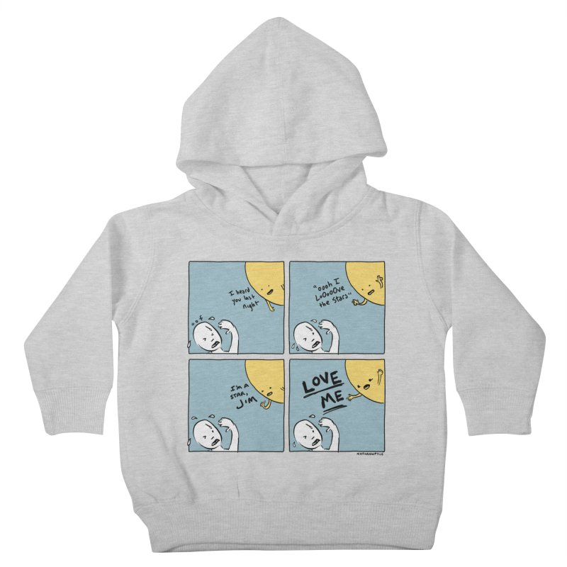 LOVE ME Kids Toddler Pullover Hoody by Nathan W Pyle