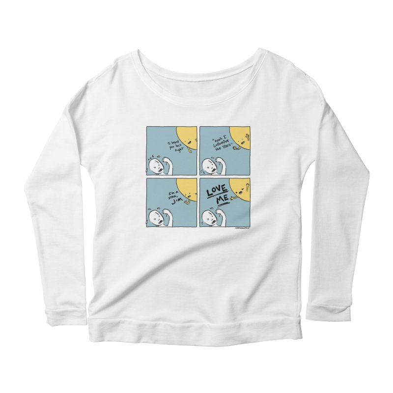 LOVE ME Women's Longsleeve T-Shirt by Nathan W Pyle