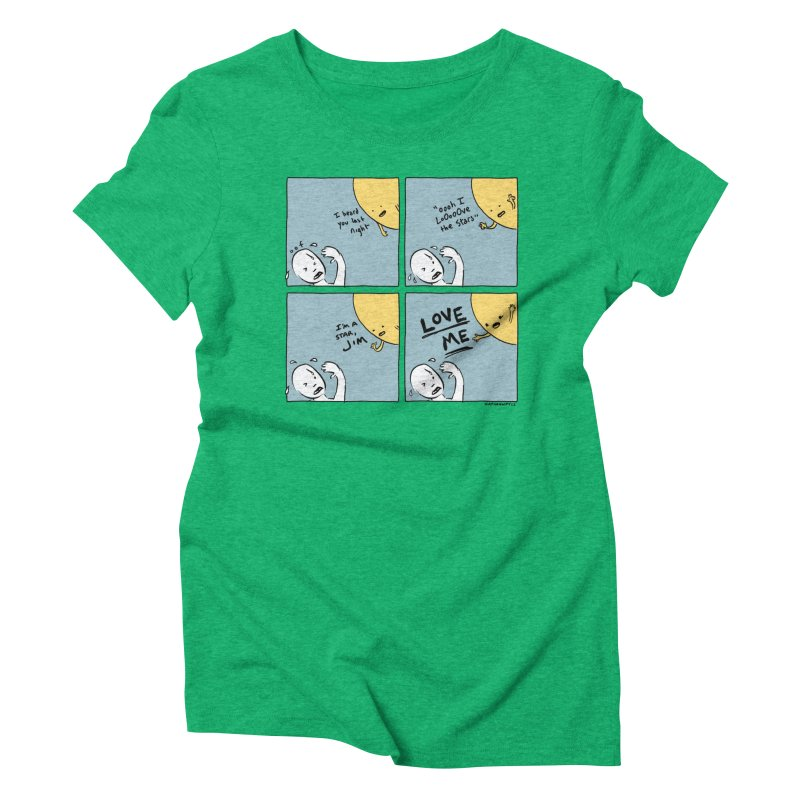 LOVE ME Women's Triblend T-Shirt by Nathan W Pyle