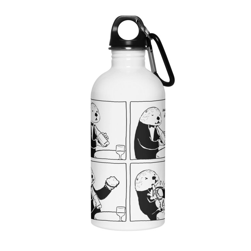 EXCELLENT CHOICE / OTTER Accessories Water Bottle by Nathan W Pyle