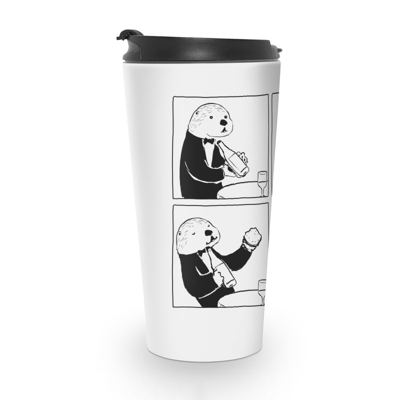 EXCELLENT CHOICE / OTTER Accessories Mug by Nathan W Pyle